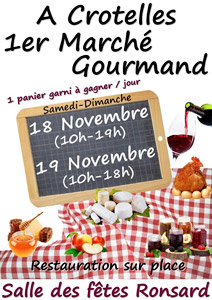 Marche Gourmand Crotelles 2017