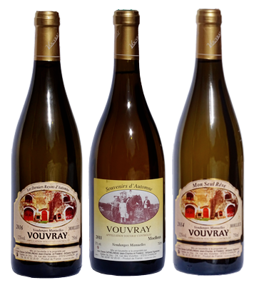 vin vouvray tranquille sec s